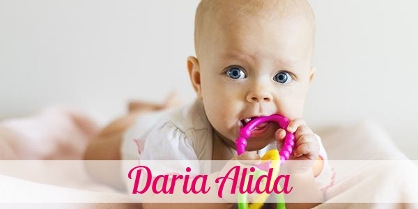 Vorname Daria