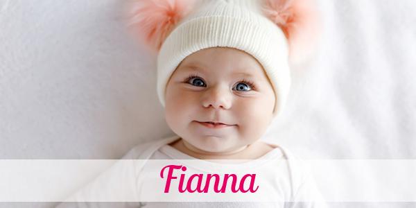 Vorname Fianna Herkunft Bedeutung Namenstag