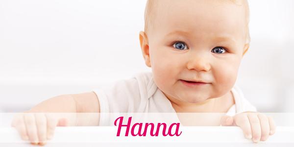 Vorname Hanna Herkunft Bedeutung Namenstag