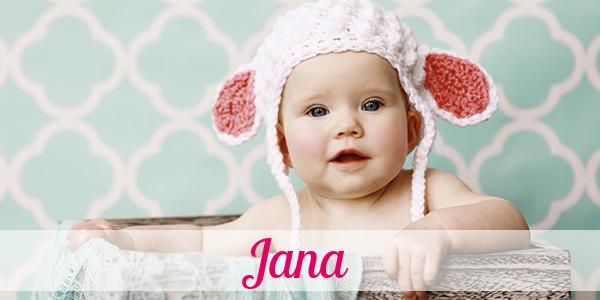 Name Jana Bedeutung
