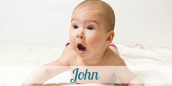 Vorname John Herkunft Bedeutung Namenstag