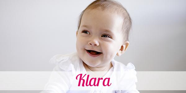 Klara Namenstag