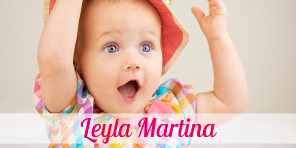 Vorname Leyla Martina: Herkunft, Bedeutung & Namenstag
