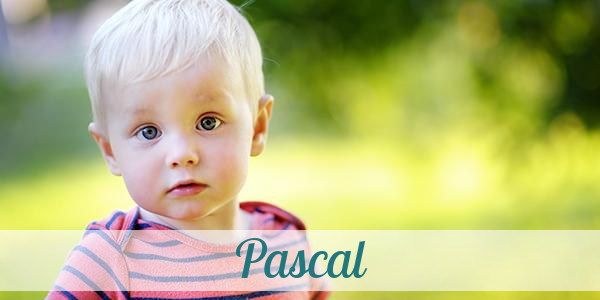 Pascal Spitznamen