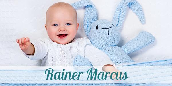 Vorname Rainer Marcus: Herkunft, Bedeutung & Namenstag