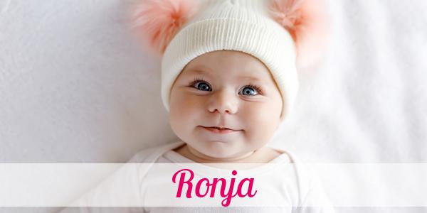 Vorname Ronja Herkunft Bedeutung Namenstag