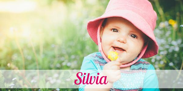 Silvia Namenstag