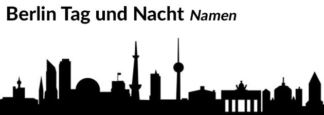 Berlin Tag und Nacht Darsteller