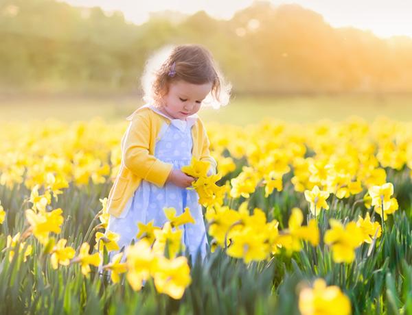 30 Namen, die Frühling bedeuten