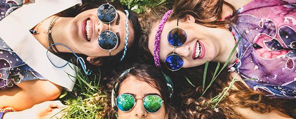 Hippie-Namen aus der Flower Power-Zeit