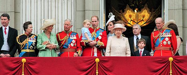 Vornamen im britischen Königshaus